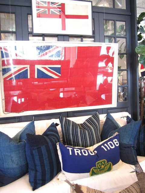 Decorating With Vintage Flags Teen Boy S Bedroom Pinterest