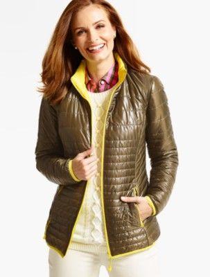Talbots: Quilted Primaloft(R) Jacket