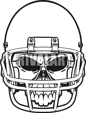 Football Helmet Front Vector Clipart Panda Free Clipart Images