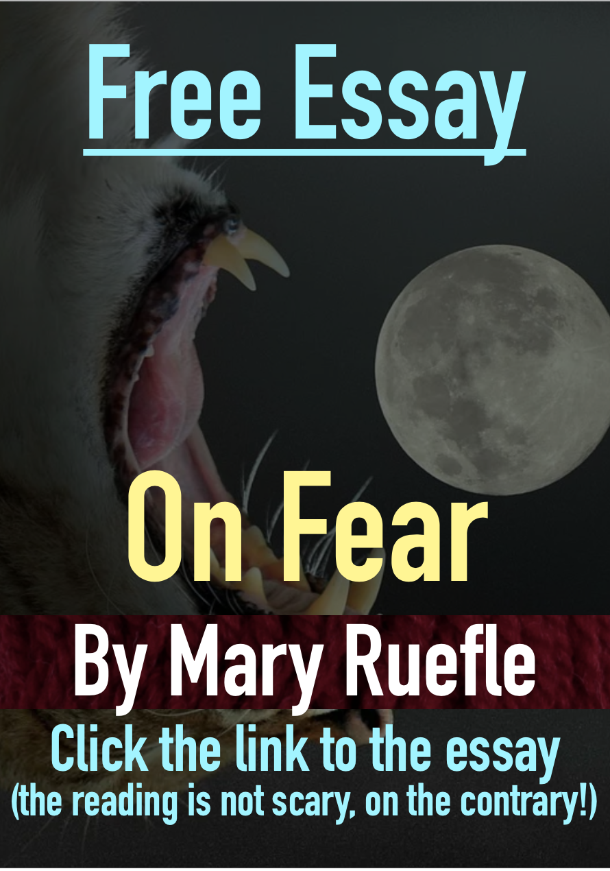 Free Essay On Fear By Mary Ruefle Click The Link To Poetry Magazine