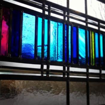 Contemporary - Stephen Weir Stained glass, Glasgow, Scotland
