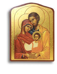 Ikone Die Heilige Familie