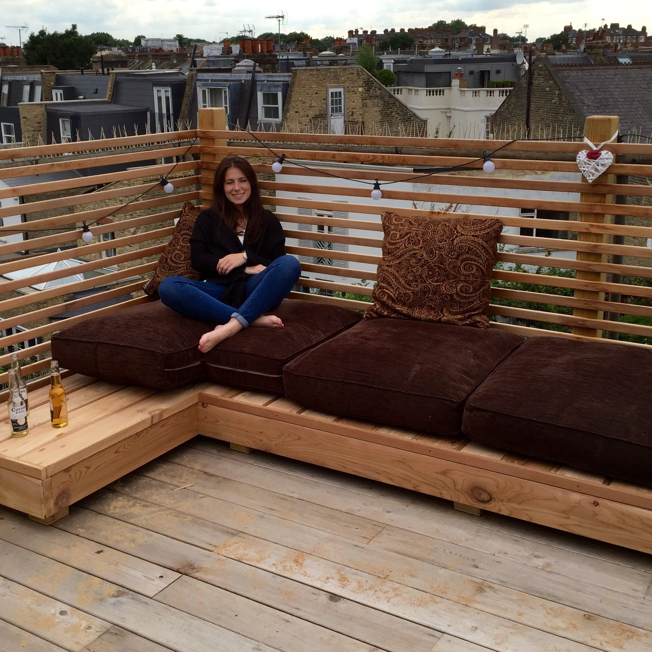 Outdoors lounge and sofa created in cedar timber by Treehouse Life ...