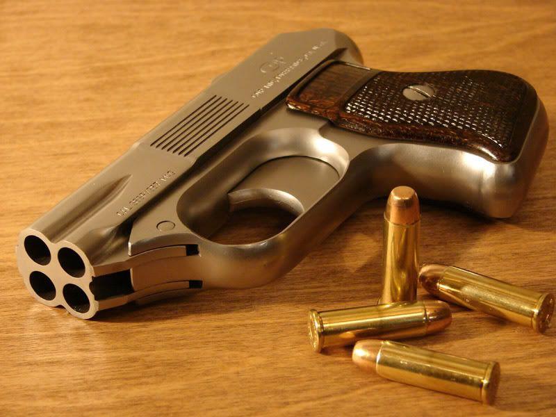 cop 357 derringer a tiny little 4 barreled pistol chambered in 357 rh pinterest com