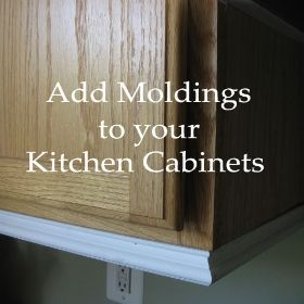 adding moldings to your kitchen cabinets in 2019 diy kitchen rh pinterest com