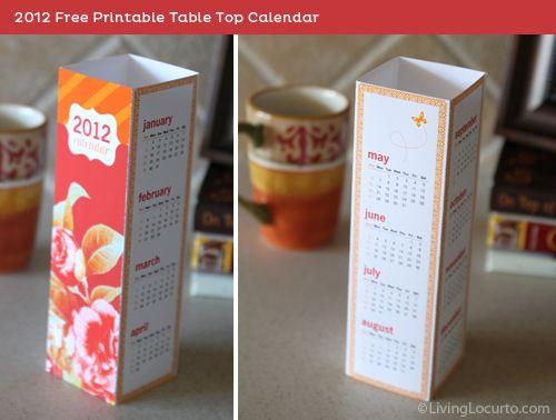The 25 best desktop calendars ideas on pinterest - Desktop calendar design ideas ...