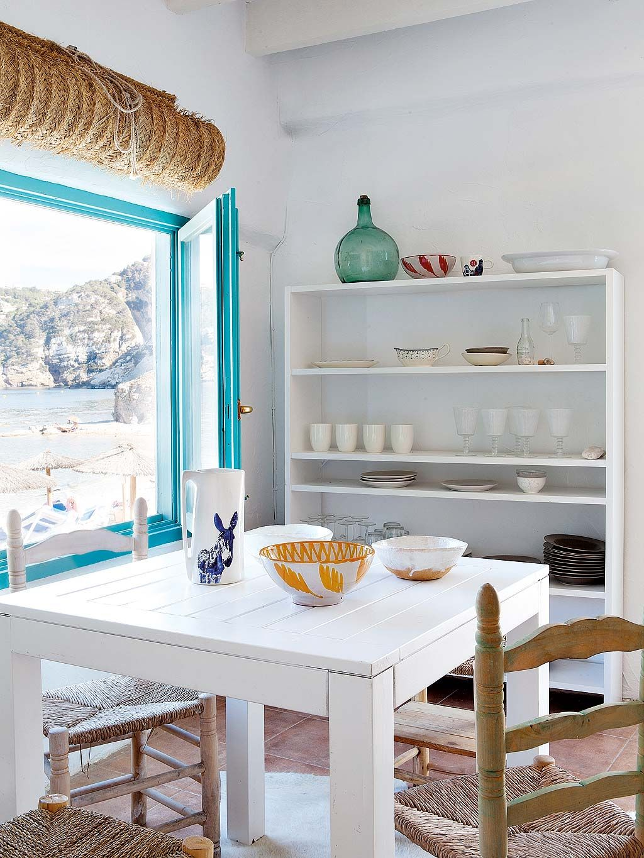AL4 chaises et table blanche | Inspirado 123 | Pinterest | Rústico ...