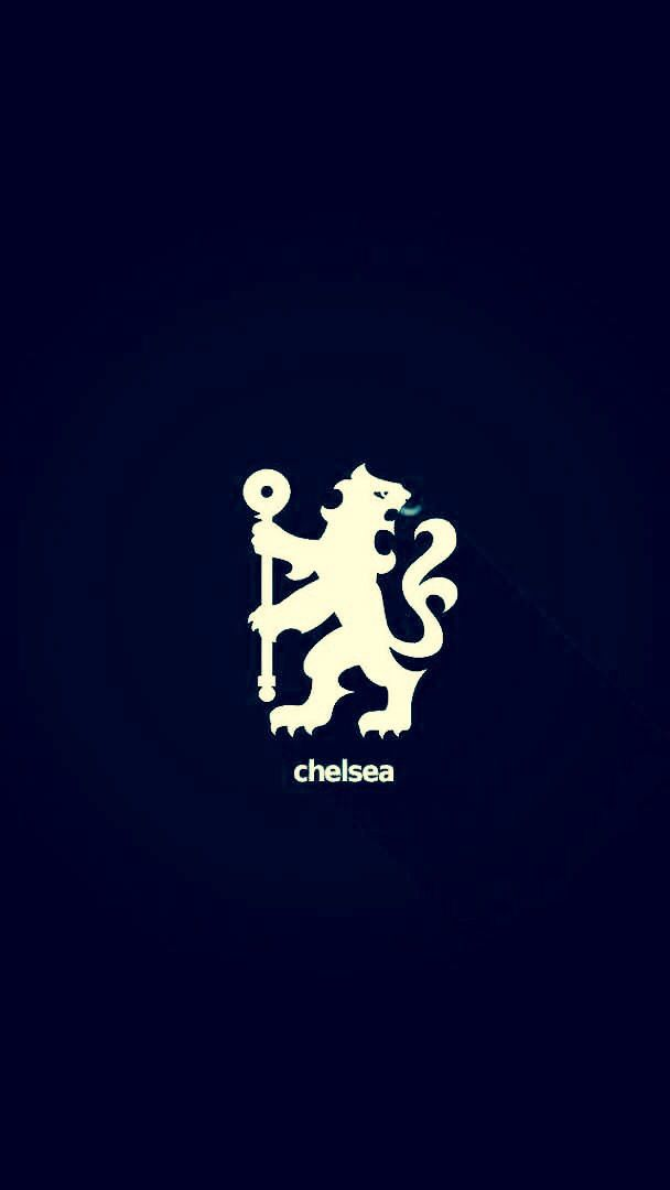 This Wallpaper Is Very Simplistic And Simple Is In As They Say Just The Emblem And Chelsea Makes This A Powerful Wallpaper In Bola Kaki Sepak Bola Foto Lucu