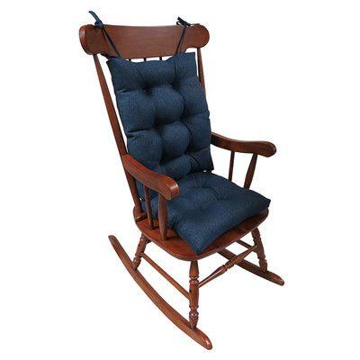 klear vu omega 2 piece rocking chair cushion color products rh pinterest com
