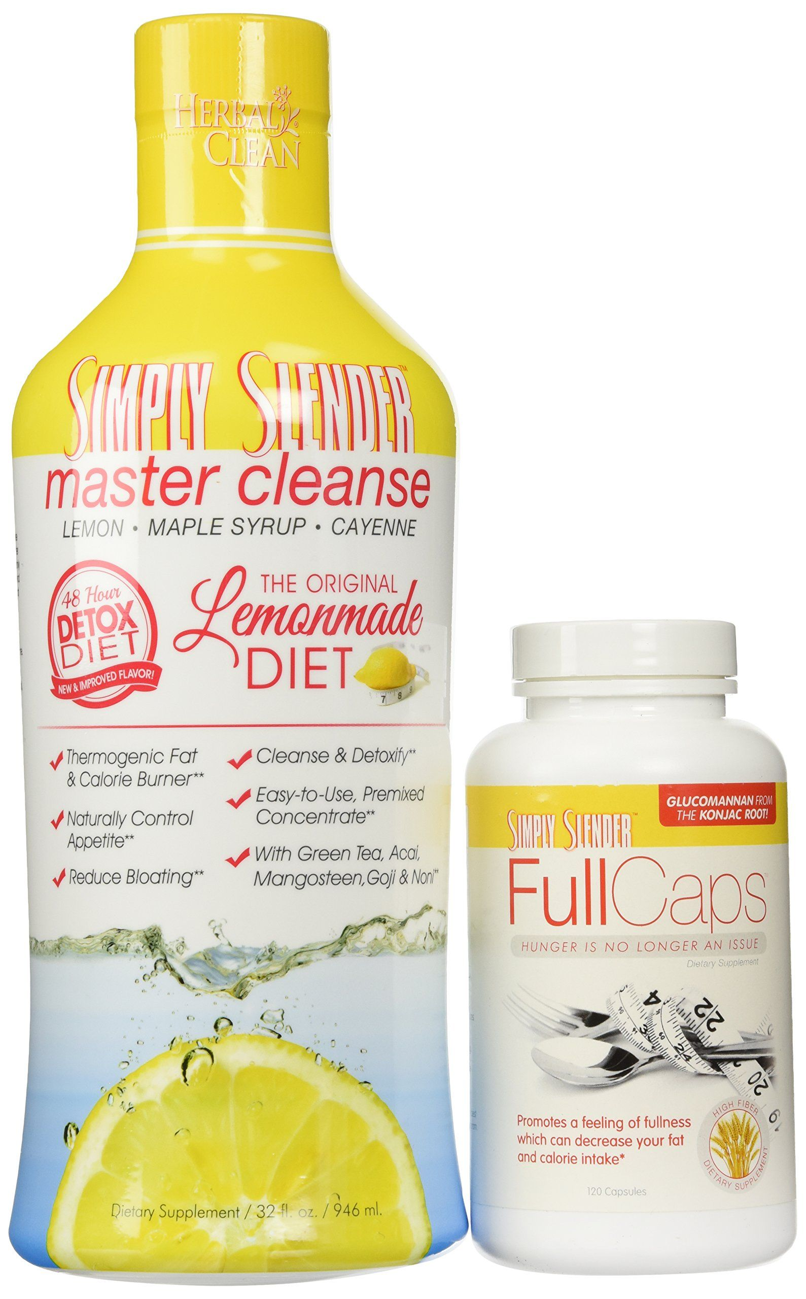 Fertility Pills - Master Cleanse and Full Caps Bundle by Simply