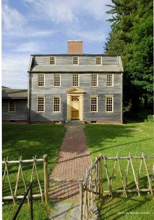 1755 georgian colonial tate house museum in portland maine rh pinterest com