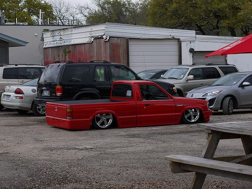 sexy little red mazda my love for mini trucks pinterest rh pinterest com