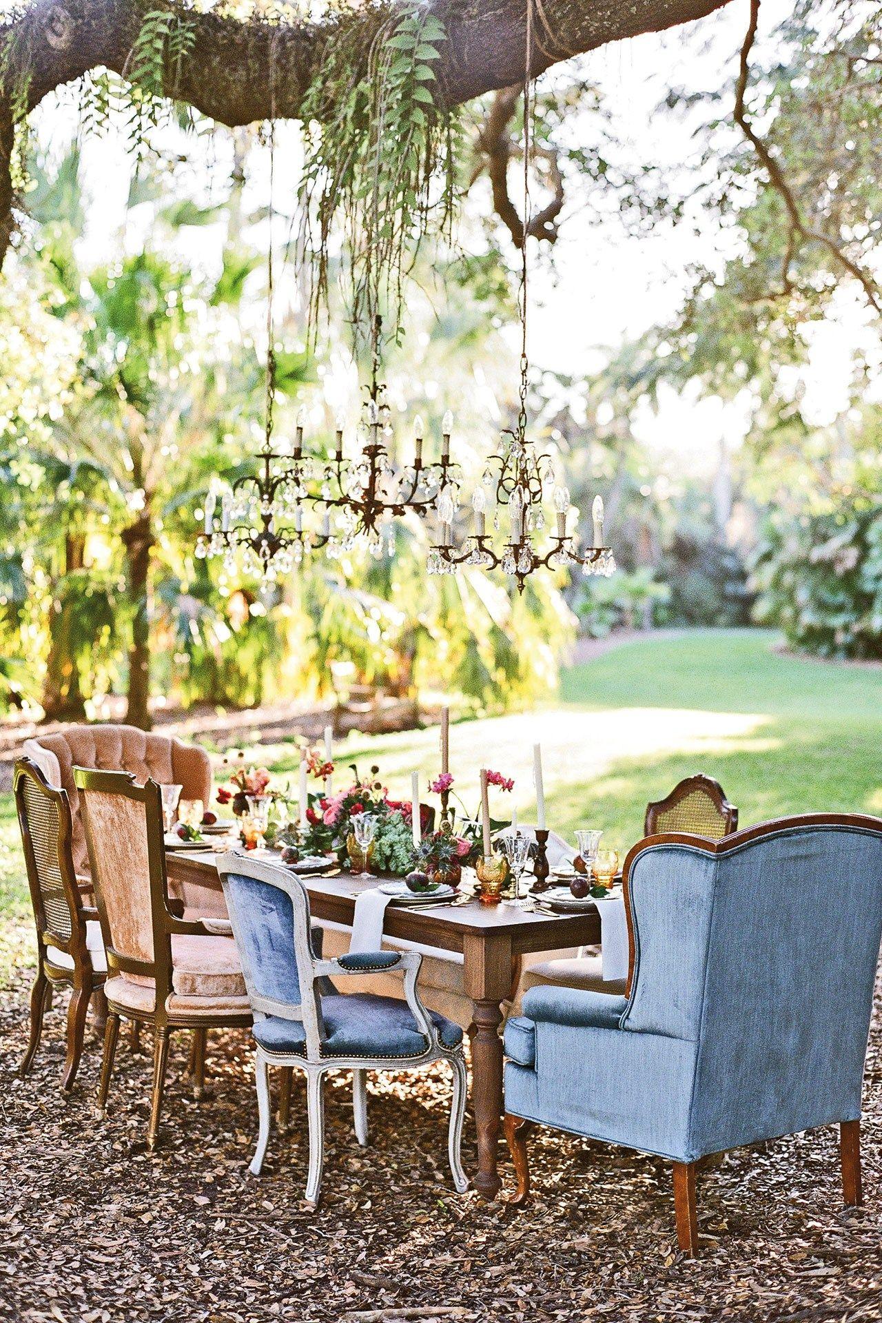 British garden party wedding theme decor bridesmagazine for Decoration theme jardin