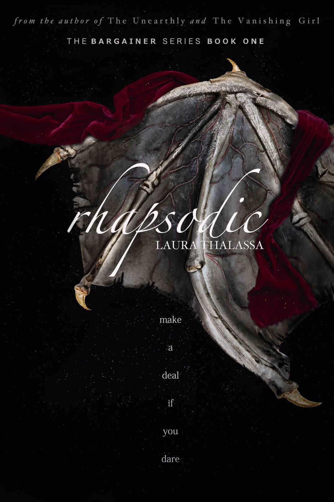 Rhapsodic (the Bargainer Book 1) (english Edition) Ebook: Laura Thalassa: