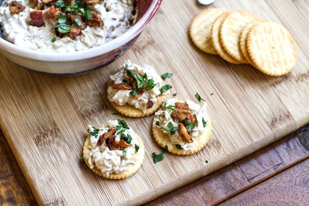 Onion Dip with Slow Cooker Caramelized Onions Recipe