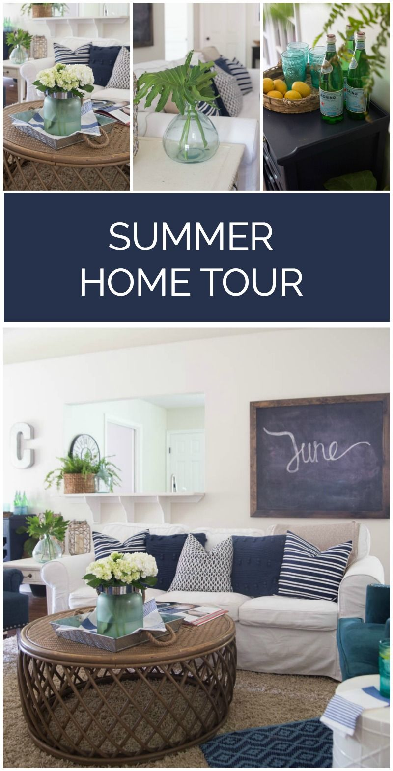 Summer Decorating Ideas 30 blogger home