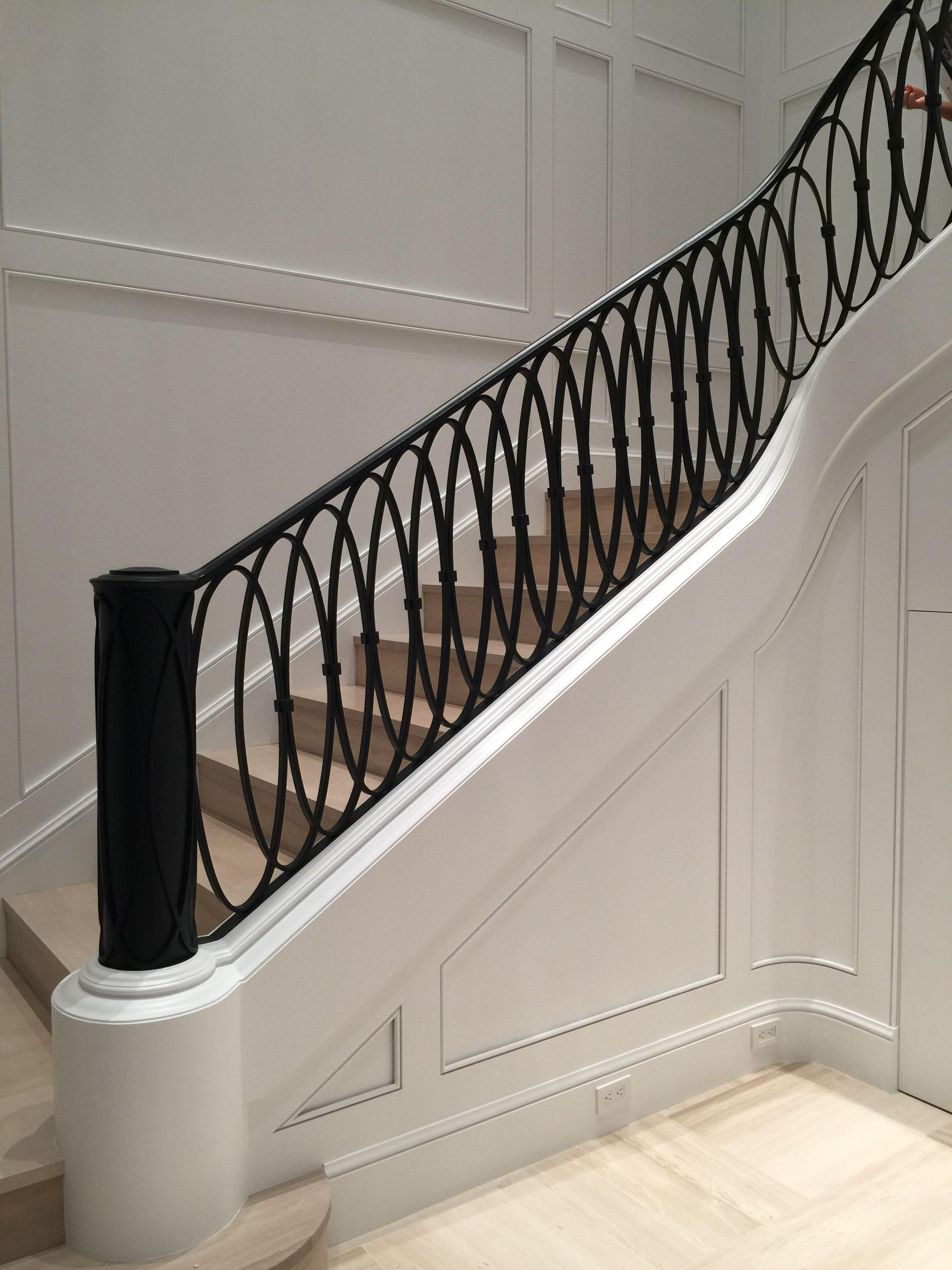 Best Interesting Newel Post Stairway Design Interior Stairs Wrought Iron Stair Railing 400 x 300