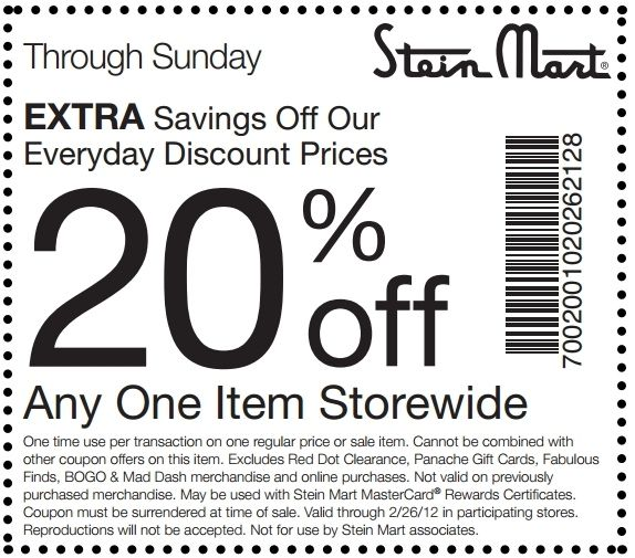 stein mart coupons printable 2013 stein mart printable coupon