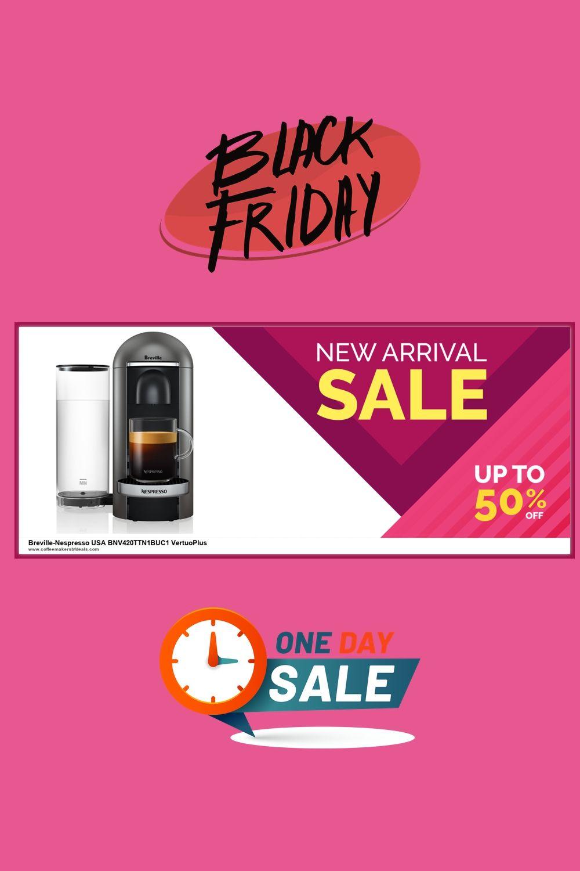 10 Best Breville Nespresso Usa Bnv420ttn1buc1 Vertuoplus Coffee Maker Black Friday Cyber Monday De In 2020 Nespresso Usa Black Friday Breville