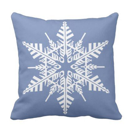personalize this snowflake pillow rh pinterest com