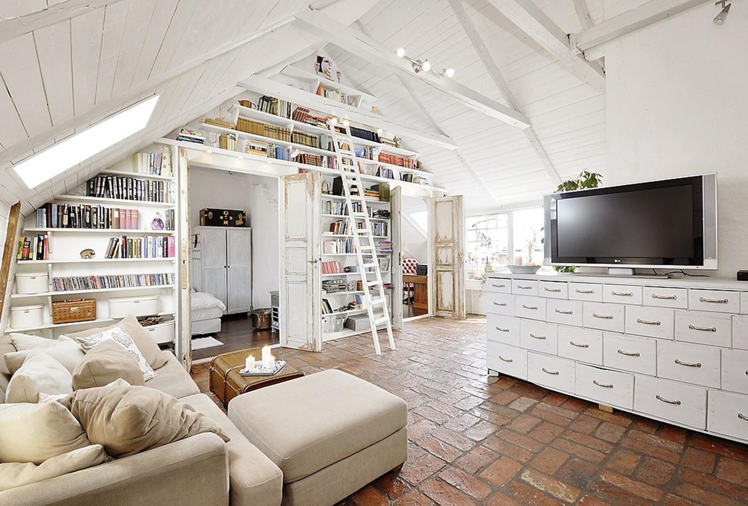 40 Stunning Shabby Chic Apartment Decorating Ideas Chic Apartment Decor Attic Living Rooms Shabby Chic Apartment