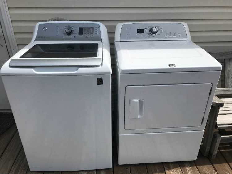 Maytag Bravos Dryer And Ge Washer Dryer Lights Up But Won E2 80