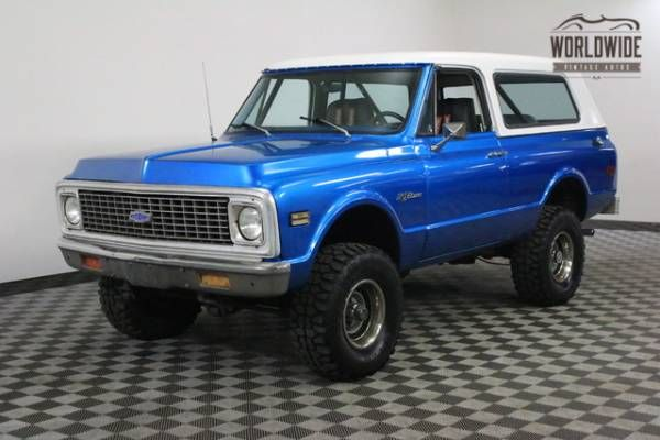 hemmings find of the day 1970 chevrolet k5 blazer autos 1970 to rh pinterest co uk