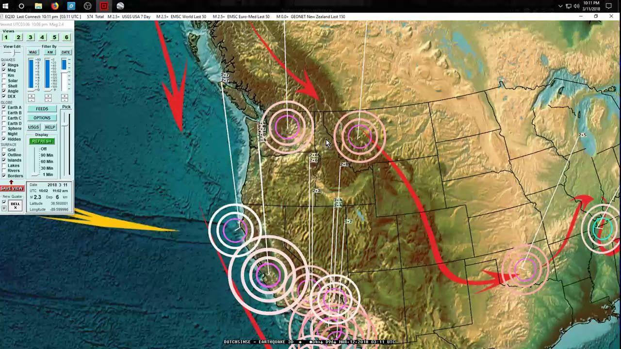 3112018 Global Earthquake Forecast Expecting