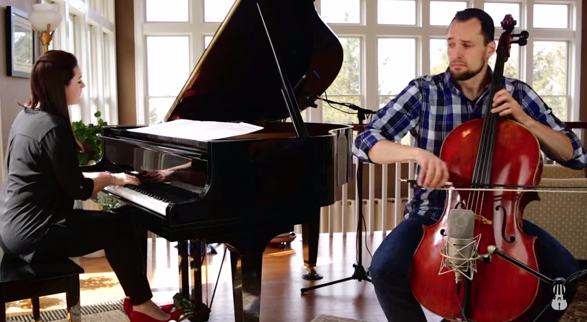 Brooklyn Duo: Someone Like You | Gather Round | Cello sheet