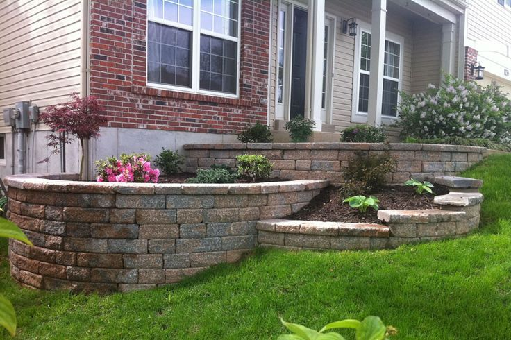 Tiered Landscaping Google Search House Pinterest Tiered Landscape Landscaping Retaining Walls House Landscape