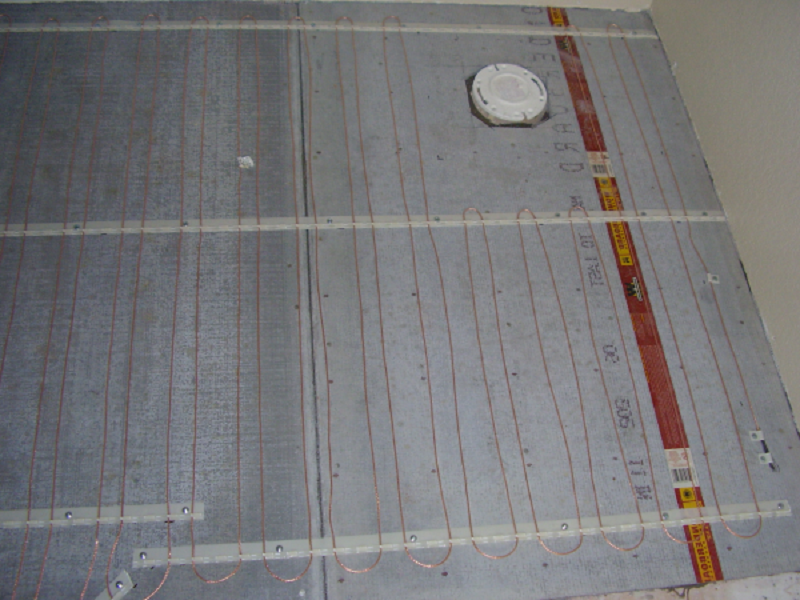 Bathroom Floor Heat Coils Httplanewstalkthe Heated Tile