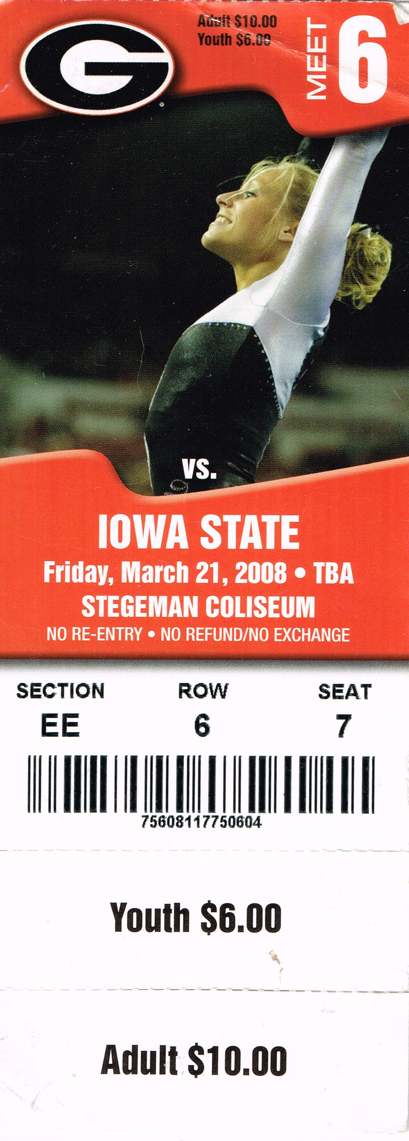 Gymdogs Ticket 2008