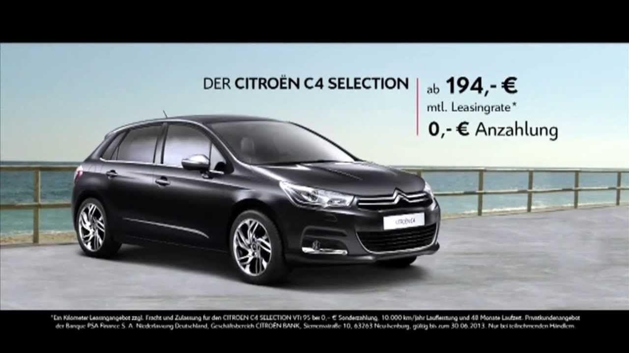 Citroen C4 Sellection Werbung mit dem Flaschengeist 3 Wünsche lustige Werbung