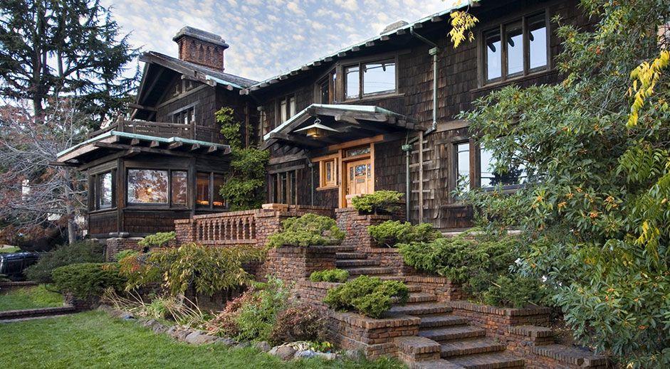 Thorsen House Greene And Greene Berkeley California 1909 Craftsman Style Homes Craftsman House Shingle Style Architecture