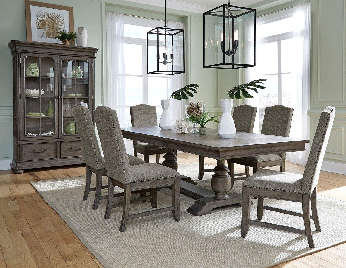 Lasalle Rectangular Dining Room Set With Images Rectangular