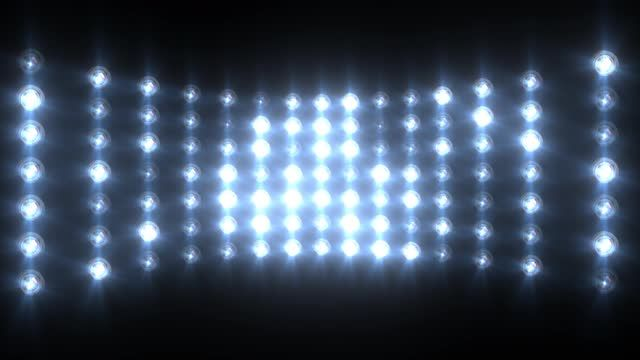 Blue Wall Of Lights Stage Sports Stadium Background Stock: Pin On Design Inspiration