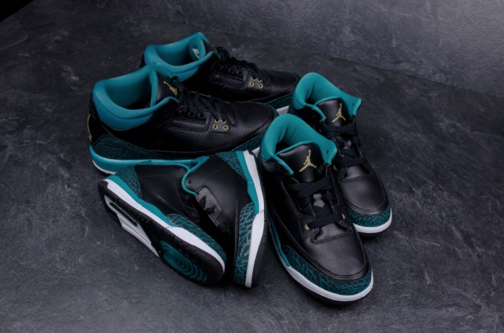 innovative design 82ae1 d11bc The Air Jordan 3 GS Rio Teal Will Be Available In Additional ...