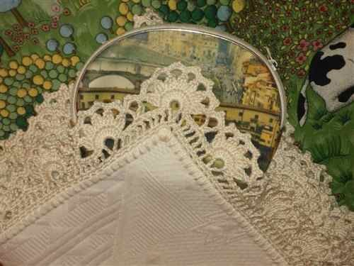 Puntillas Tejidas Al Crochet