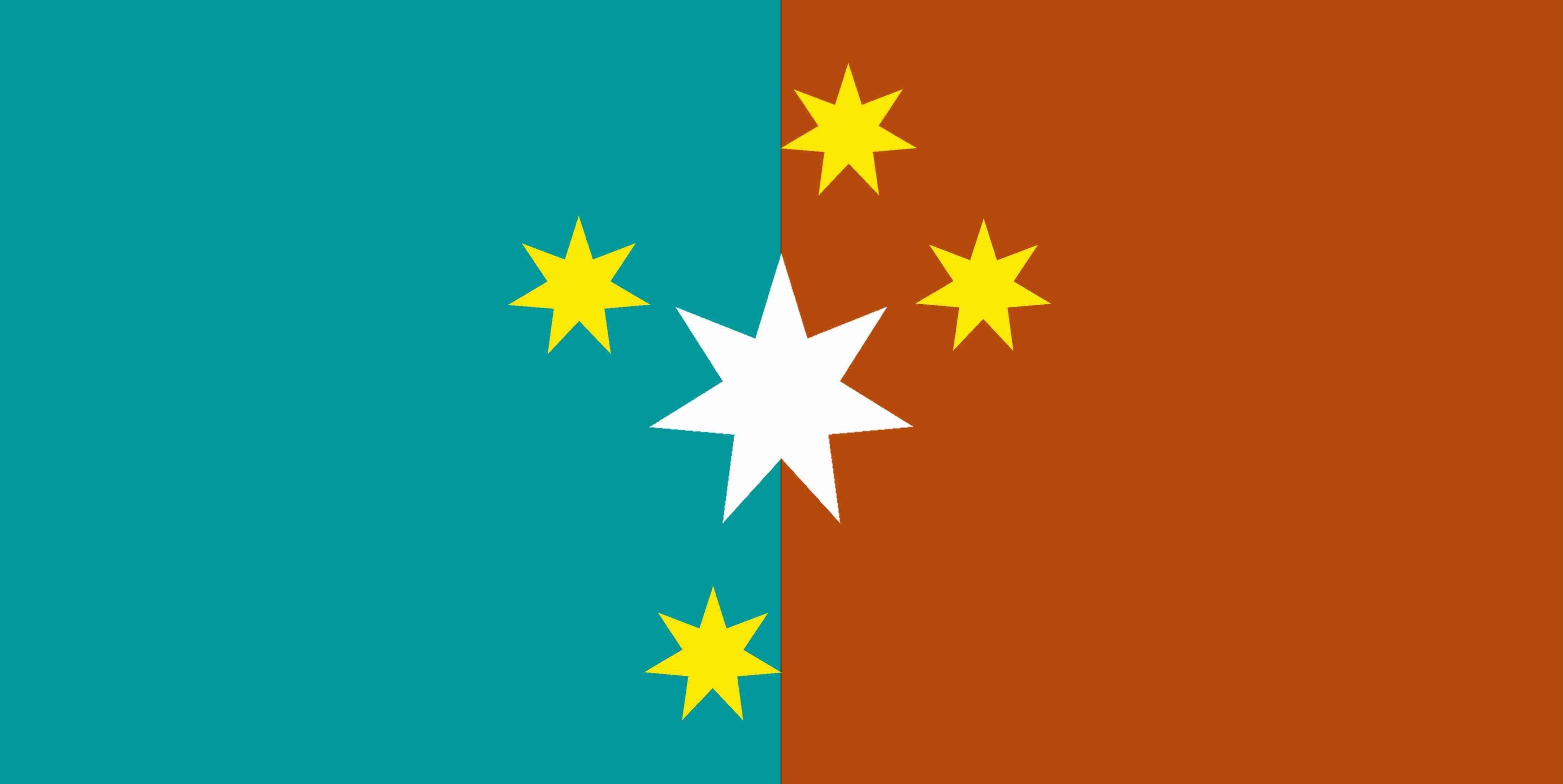 New Australian Flag Design Series Ulurusky17 New Goldsc Cs Turqblue Redochre Australian Flags Australian Flag Ideas Flag