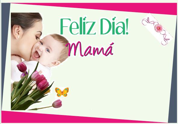 Invitación A Celebración Día De La Madre: Fondos Invitacion Dia De Las Madres