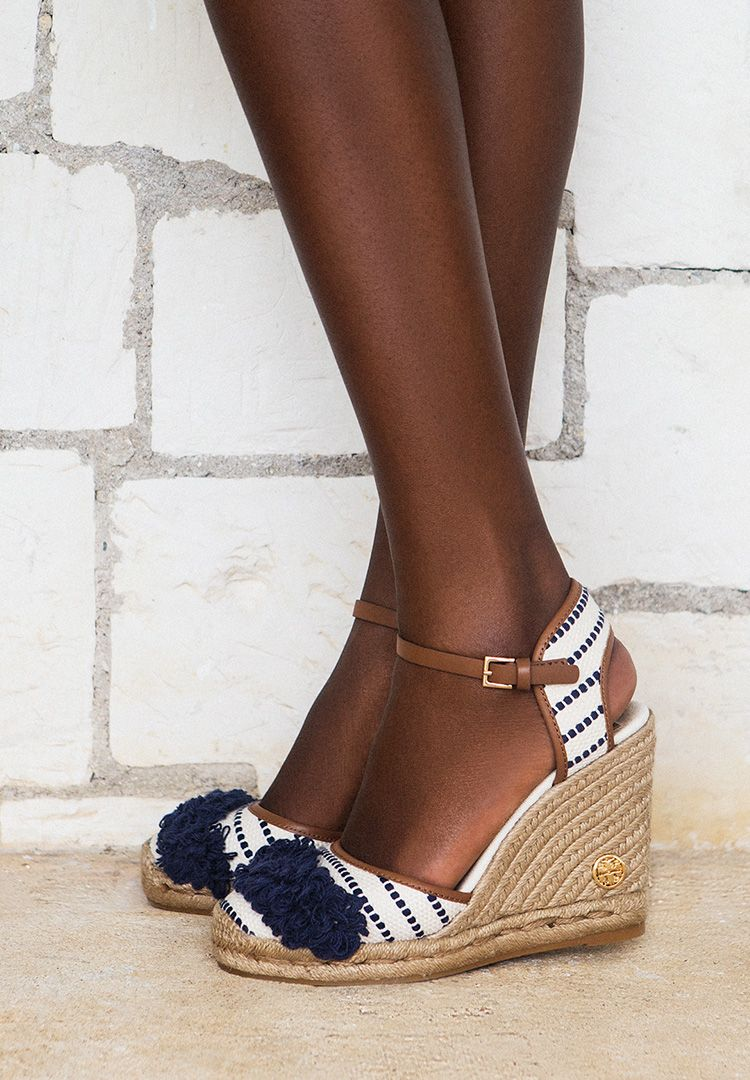 Tory Burch Shaw Wedge Espadrille