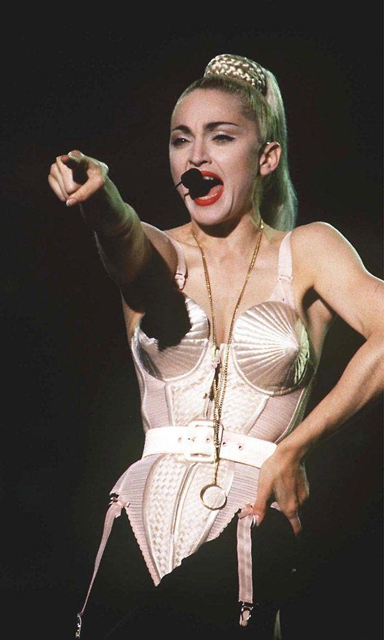 Cheaply Madonna cone boob costume