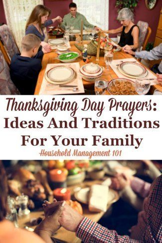 Thanksgiving Day Prayers: Ideas & Traditions For Your Family