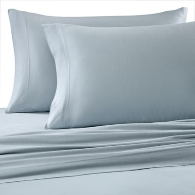Bed Bath And Beyond Jersey Sheets Custom Pure Beech® 100% Modal Jersey Knit Sheet Set  Light Blue  Want Decorating Design