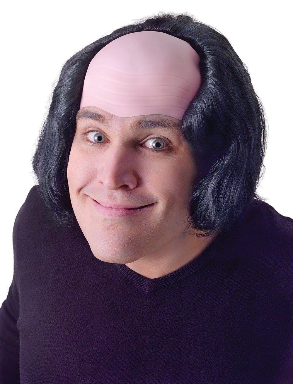 gargamel costume Bald Man With Black Hair Wig Creepy Old Man Monk ...