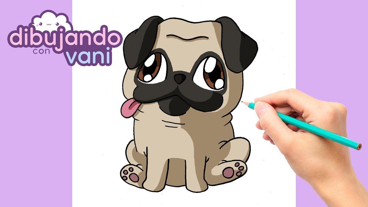 Como Dibujar Un Perro Pug Paso A Paso Dibujos Para Dibujar Imagenes Como Dibujar Un Perro Perros Pug Dibujo Paso A Paso