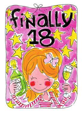 Uitzonderlijk Eindelijk 18 jaar!- | Teksten: Verjaardag - Verjaardagskaarten &FP11