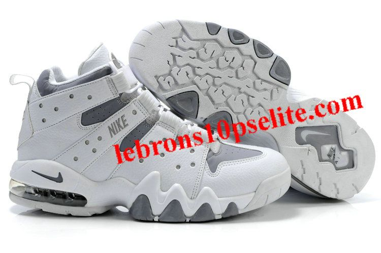 big sale be571 ef314 Charles Barkley Shoes - Nike Air Max2 CB 94 Gray/White | Charles ...