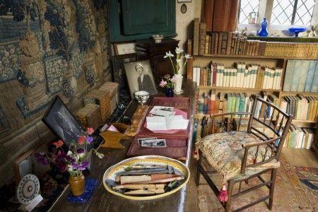 Vita Sackville-Vest's writing room