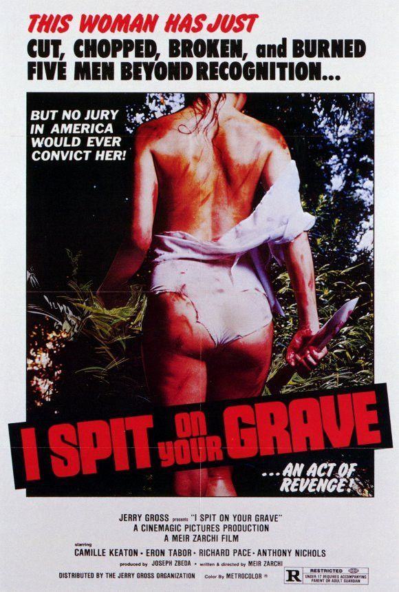I Spit On Your Grave 27x40 Movie Poster 1978 Movie Posters Grave Movie Best Movie Posters